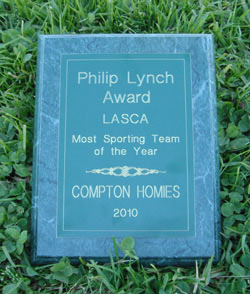 Philip Lynch Award - LASCA - Most Sporting Team of the Year - Compton Homies