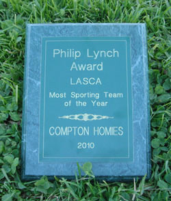 Philip Lynch Award to the Homiez & the POPz